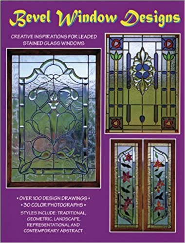 stained glass window ideas owl bevel window designs 100 stained glass patterns randy wardell judy huffman publications 9790919985079 amazoncom books