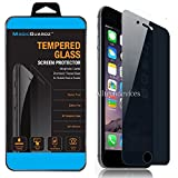 MagicGuardz Anti-Spy Tempered Glass Screen Protector Shield 5.5 Inch for iPhone 6 Plus - Retail Pack