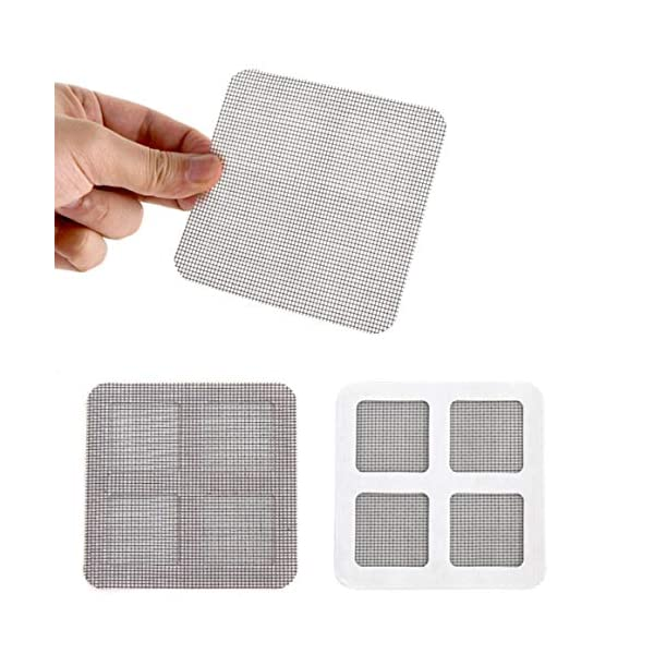 Anti-zanzare Mesh Patchy Wires Patches Summer Window Patch di zanzariere per riparare i fori rotti sulla porta della… 2 spesavip