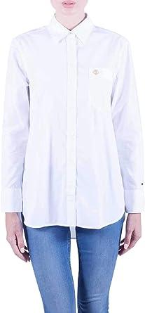 Tommy Hilfiger Essential Girlfriend - Camisa para mujer: Amazon.es: Ropa y accesorios