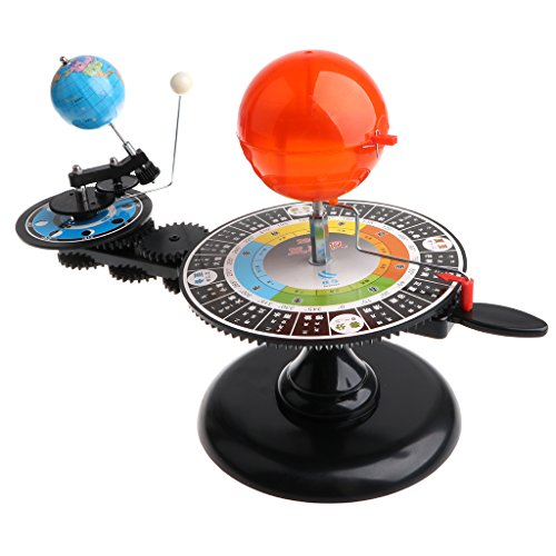 Homyl Solar System Sun Earth Moon Orbital Planetarium Model Science Project Kit Astronomy Learning Study Science Kit