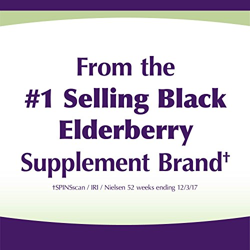 Sambucus Zinc lozenges with Elderberry and Vitamin c, Honey Lemon Flavor, Gluten Free, Kosher Certified, 24 Count by Nature's Way (Image #3)