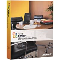 Office Standard Edition 2003 (Excel, Outlook, Word, Powerpoint)