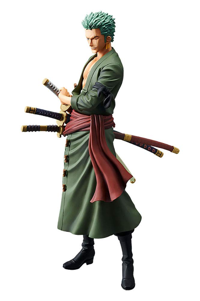 Roronoa Zoro The Grandline Men Grandista Figure Banpresto One Piece