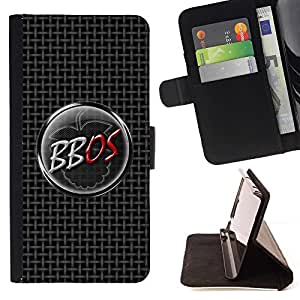 DEVIL CASE - FOR Samsung Galaxy Core Prime - BBOS - Style PU Leather Case Wallet Flip Stand Flap Closure Cover