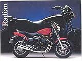 1986 1987 1988 1989 1990 Yamaha Radian 600