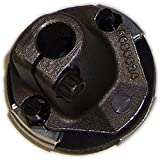 Eckler's Premier Quality Products 25255513 Corvette Steering Coupler Flange NonTelescopic Lower With Web