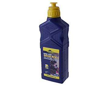 Aceite Quad Ester Tech RF 4 + Putoline 4T 10 W de 40 Synth. 1L: Amazon.es: Coche y moto
