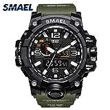 Military Waterproof Sport Watch (Army Green)
