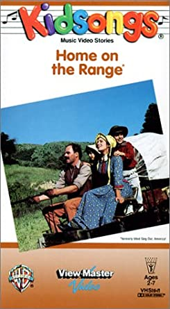 Amazon Com Kidsongs Home On The Range Vhs Bruce Gowers The