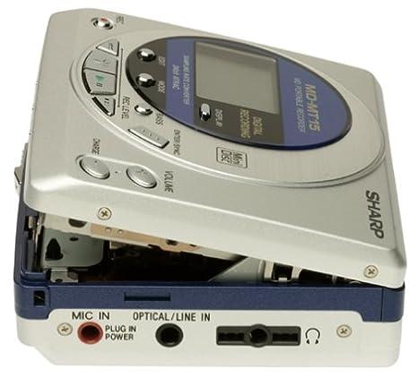 Sharp MD-MT15S Portable MiniDisc Player//Recorder
