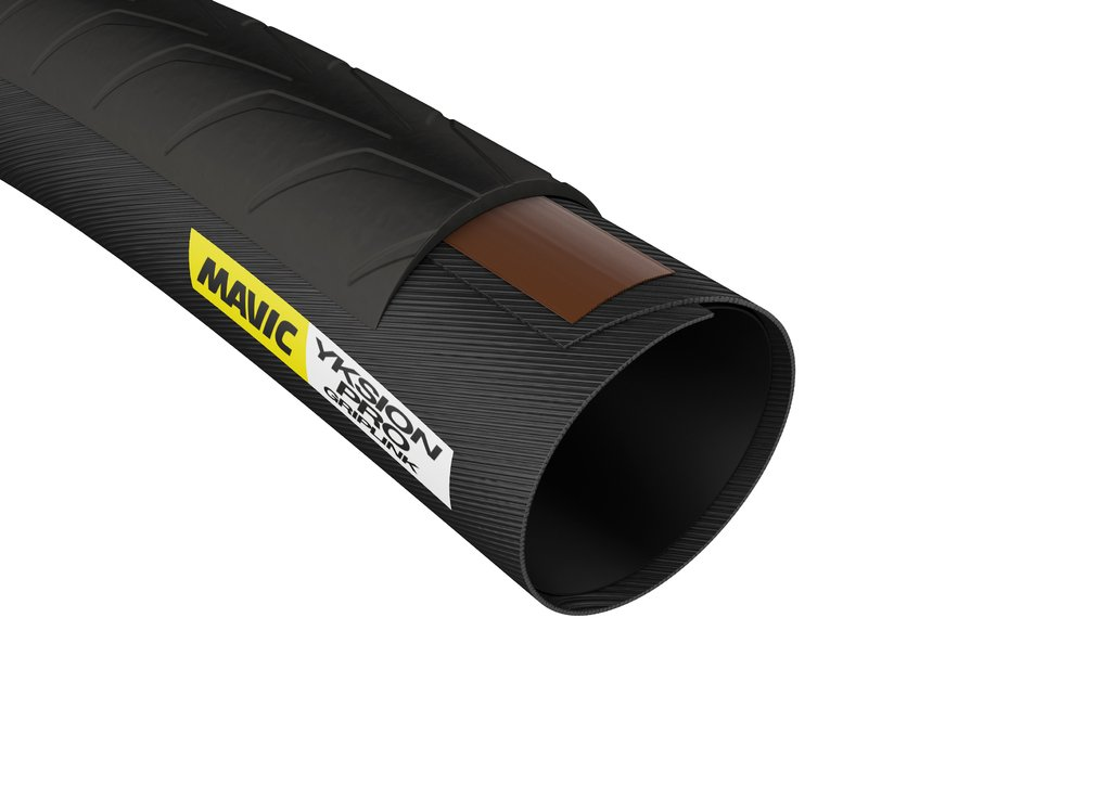 MAVIC(マヴィック) タイヤ ロード 前輪用 イクシオン プロ グリップリンク チューブラー 700×23C ブラック ホワイト L37804500 B016XCUHVU