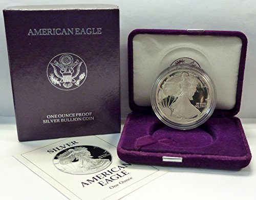1993 P American 1 oz. Silver Eagle Dollar Proof US Mint ()