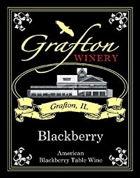 NV The Grafton Winery Blackberry Wine 750 mL