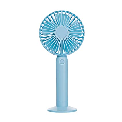 Mini Fan Small USB Desk Personal Portable Cooling Fan USB Or Battery Powered for Office House Dorm Outdoor Travel Camping,Blue