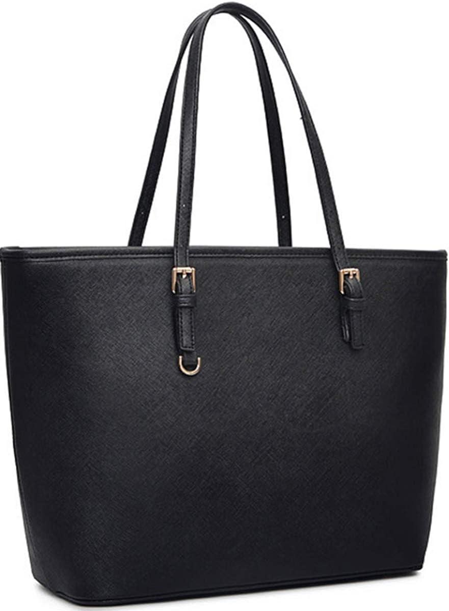 Amazon.com: Black Tote Purses and Handbags for Women, COOFIT Tote Handbags Women  Purses Shoulder Bag Pocketbooks Purses: Clothing
