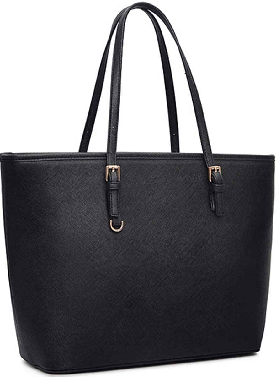 Black Tote Purses and Handbags for Women, COOFIT Tote Handbags Women Purses Shoulder Bag Pocketbooks Purses 51KVF804B2BL