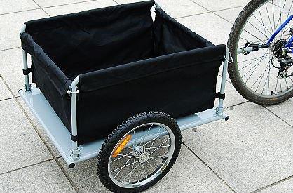 Aosom Elite Bike Cargo / Luggage Trailer - Yellow / Black by Aosom (Image #7)