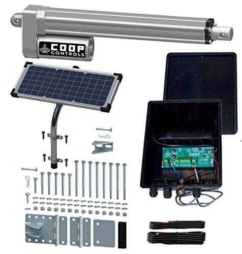 solar powered chicken door - 9