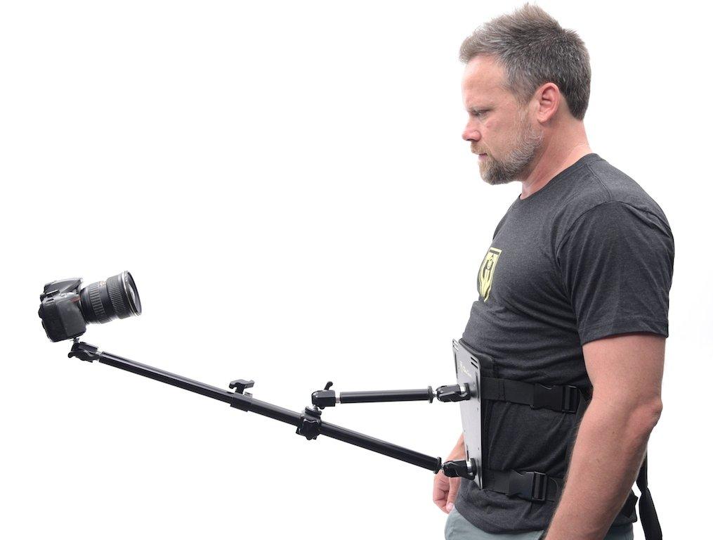 Glide Gear SNC100 Video Camera Snorricam 3rd Person DSLR Vest by Glide Gear