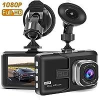 Youbegou Dash Cam, caméra de Tableau pour Voitures avec Full HD 1080p 170degrés Super Grand Angle Appareil Photo, écran TFT de 7,6cm, G-Sensor, Vision de Nuit, WDR, Enregistrement en Boucle