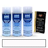 PAINTSCRATCH Hyper White Tricoat WC9 for 2018 Hyundai Sonata - Touch Up Paint Spray Can Kit - Original Factory OEM Automotive Paint - Color Match Guaranteed