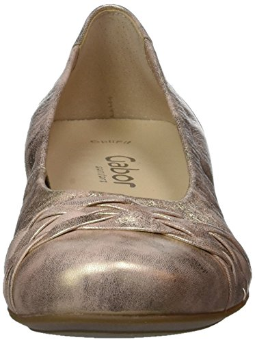 Gabor Ladies Comfort Chiuso Ballerine Beige (rame 68)
