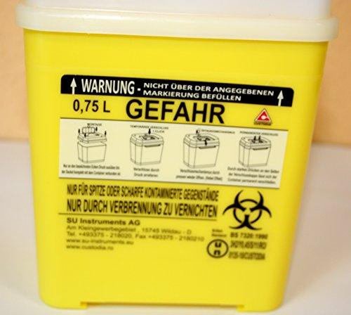 Kanülensammelbehälter, Entsorgungsbox (0.75 Liter)