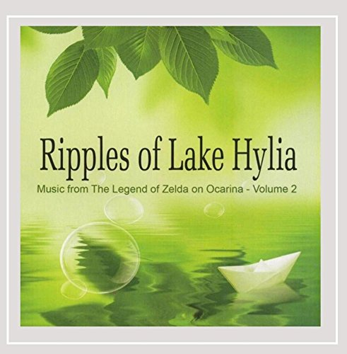 "Price comparison product image Ripples of Lake Hylia (Music from ""The Legend of Zelda"" on Ocarina,  Vol. 2)"