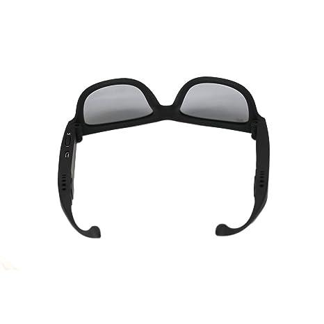 LUPPO Gafas de Sol Polarizadas con Auriculares Bluetooth de Conducción ósea Auriculares Inalámbricas SmartTouch Stereo Music Auriculares con Micrófono ...