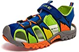 ASHION Child's Sandals Summer Beach & Pool Sneakers Trekking Shoe Boys & Girls, A-blue, 36 EU