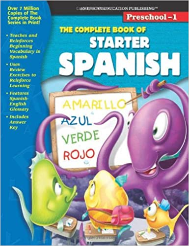 The Complete Book of Starter Spanish (Spanish and English Edition ...