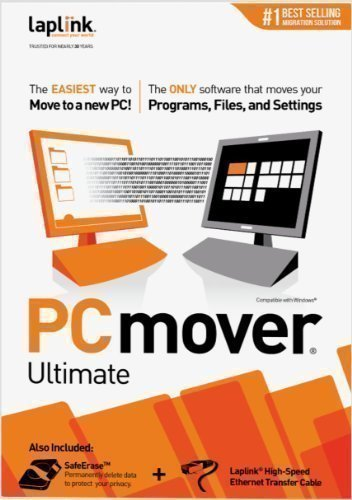 Software : Laplink PCmover Ultimate 10 - 1 Use