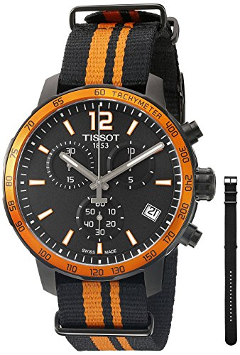 Tissot Men's T0954173705700 Analog Display Quartz Multi-Color Watch