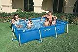 Intex 86' x 59' x 23' Rectangular Frame Above Ground Baby Splash Pool | 28270E