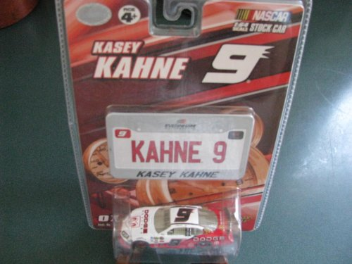 2007 Kasey Kahne # 9 Dodge Dealers Charger 1/64 Scale & Mini #9 Replica License Plate Winners Circle Edition