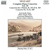 Mozart: Piano Concertos Nos. 7, 10 And 15