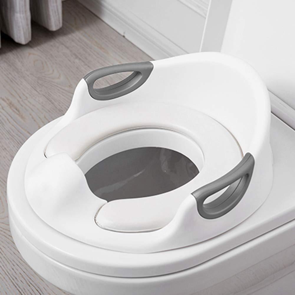 Towinle T/öpfchentrainer Toiletten-Trainer Kinder T/öpfchen Kinder-Toilettensitz mit Leiter T/öpfchen Sitz mit Treppe 75 Kg belastbar