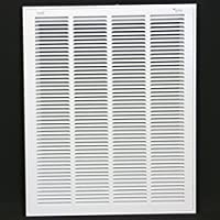 20 x 25 RETURN FILTER GRILLE - Easy Air FLow - Flat Stamped Face by Metal-Fab/Air-Craft