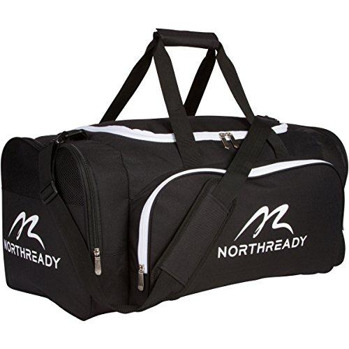 NORTHREADY Sports Duffel Gym Bag for Men, Women & Kids - 24.5