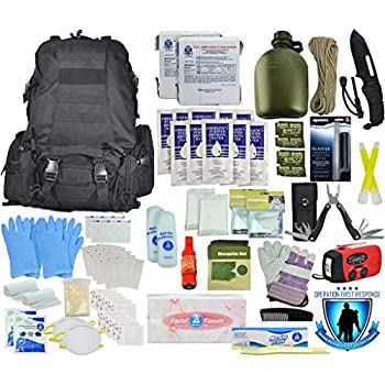 Tactical 365 Operation First Response Stage Three 3 Day 2 Person Bug Out Survival Bag ( Stage 3 Kit)