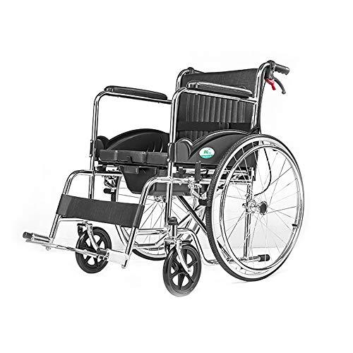 Amazon.com: Sillón de ruedas MS para ancianos discapacitados ...
