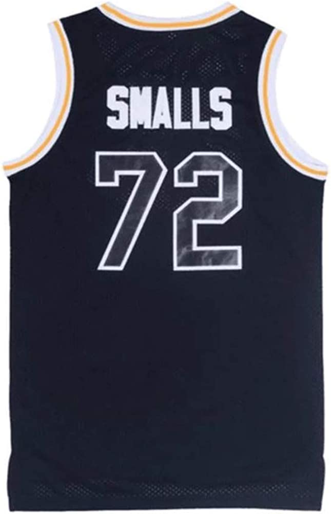 90S Hip Hop Clothing for Party Stitched Letters and Numbers oldtimetown BadBoy #72 Smalls Basketball Jersey S-XXXL