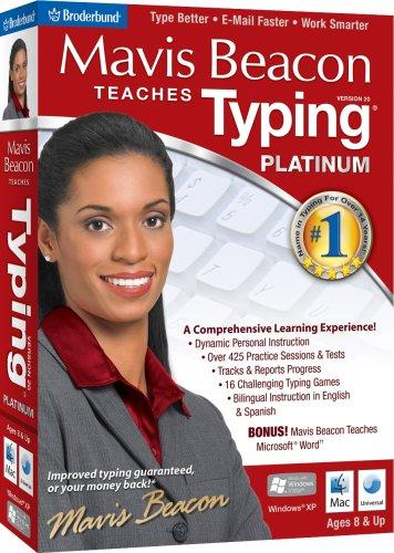 Mavis Beacon Teaches Typing Platinum 20 - Old Version