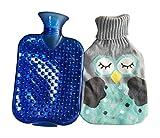 hot water bottle wool - Hot Sale Living Goods Hot Water Bottle Novelty Hot Water Bag 32*20cm Blue A