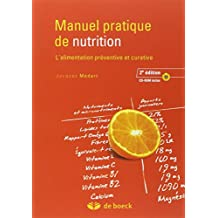 Manuel pratique nutrition  2/e livre + CD-ROM