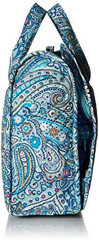 51KVJR%2Bm2UL - Vera Bradley womens Iconic Grand Hanging Organizer, Signature Cotton, Daisy Dot Paisley, One Size