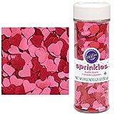 Wilton Jumbo Heart Sprinkles - 3.25