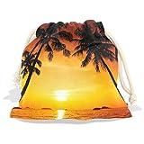 Beach And Sunset View Velvet D