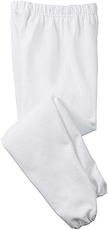StoutMensShop Big and Tall White Fleece Sweatpants